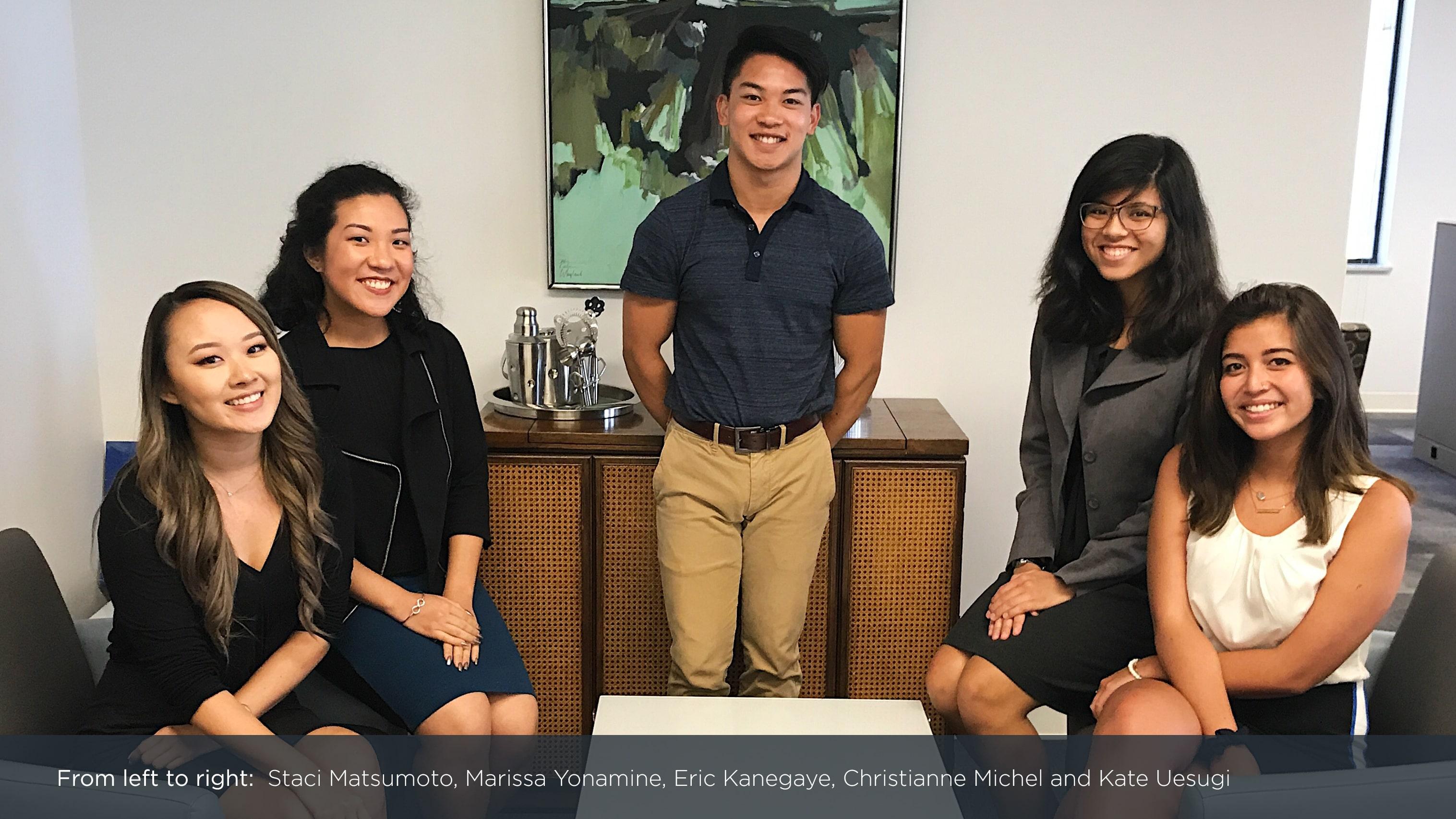 MVNP interns class of 2017